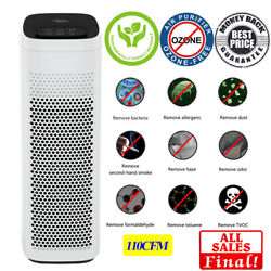 Tower Air Cleaner Homeandoffice,825sqft Air Purifier Hepa H13filter For Smoke,dust