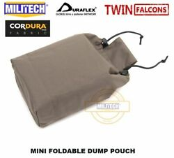 Folding Dump Pouch Tactical Recovery Drop Molle Magazine Bag Utility Delustered