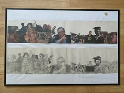 1of1 Original Artwork 3and039x2and039 Anti-war Piece Created In The Wake Of Post 9/11 Wars