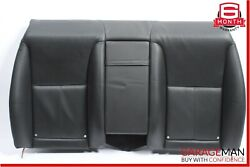 07-13 Mercedes W216 Cl550 Rear Top Upper Seat Cushion Cover Assembly Black