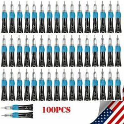 100pcs Dental E-type Straight Nosecone Low Speed Handpiece Fit Nsk Ex203c P/rl