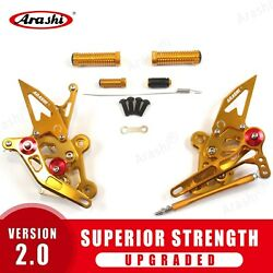Footrests Rearsets Foot Pegs For Suzuki Gsxs 750z 2015 - 2021 2016 2017 2018 Gd