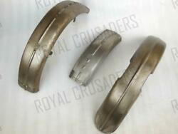 New Matchless G3l Front And Rear Mudguard Fork Girder Model Raw Steelrep