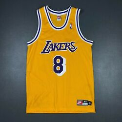100 Authentic Kobe Bryant Vintage Nike 1998 Lakers Jersey Size 44 L Mens