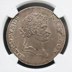 Ngc Ms62 Germany Westphalia 1812 Taler Silver Coin