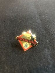 Smith And Wesson Striking Dealer Lapel Pin Hat Hand Gun Pistol 1994