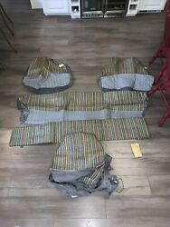 Vintage Chevrolet Nos Two Door Seat Cover Cushions Front Rear 986844