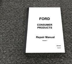 Ford Lgt17h Yt16 Yt16h Lawn Garden Tractor Shop Service Repair Manual 40641002