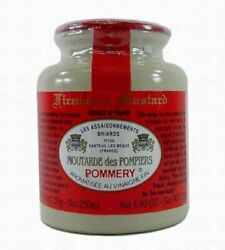 Pommery - Spicy Gourmet Firemenand039s Mustard From France In Crock 8.8oz