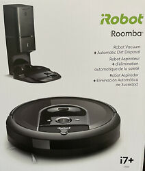 Irobot Roomba I7-7550 Robot Vacuum With Automatic Dirt Disposal Unopened I755020