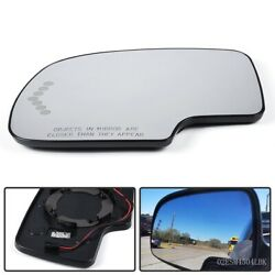 Heated Mirror Glass Power Turn Signal Driver Side Fit For Chevy Gmc Cadillac Usa