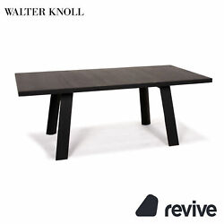Walter Knoll Tadeo Wood Dining Table Black Table 14038