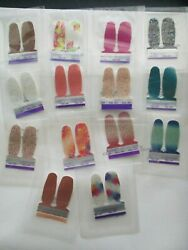 Color Street Huge Lot 70 Twosies Samples Nail Polish Strips 14 Different Colors