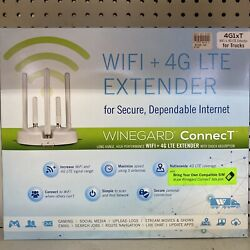 New Winegard 4g1xt Connect 4g1xm Wifi Extender Secure 4g Lte For Trucks Wf-200t