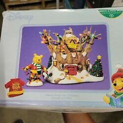 Dept 56 Disney Winnie The Pooh Almost Ready For Christmas 59150 Super Rare