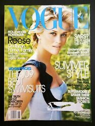 Vogue Magazine Jun 2003 Reese Witherspoon 109 Best Swimsuits