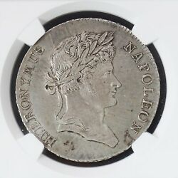 Ngc Ms62 Germany Westphalia 1811 Taler Silver Coin