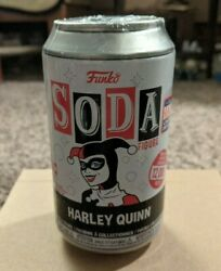Funko Soda Harley Quinn Sdcc 2021 Figure Sealed Chase Chance Hot Topic In-hand