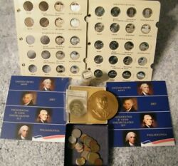 Silver Silver Proofs And World Coin Lot And More 2 War Nickels Pres 1