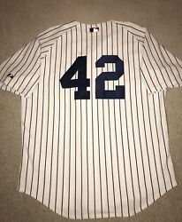 Mariano Rivera New York Yankees Authentic Majestic On-field Jersey 48 Xl 6200