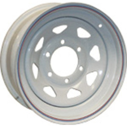American Tire 13 Galvanized Wheel 5 Hole P/n 20234 - Sold Individually