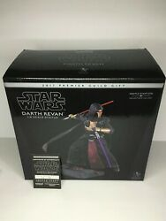 2017 Star Wars Darth Revan Pgm Excl. Statue Factory Sealed Gentle Giant 113/700