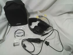 Bose A20 Aviation Headset Helicopter Plug In Cable Complete In Case New