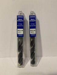 2 Pack Champion Drill And Tool Silver And Deming Drill Bit, 5/8-inch