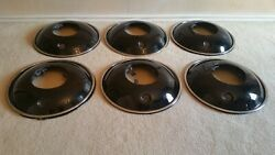 1930 - 1936 Packard Rare Wire Wheel Cover Hubcaps Set Of 6