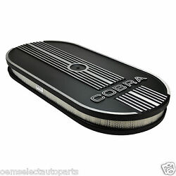 Oem New Ford Racing Oval Air Cleaner Assembly M9600c302 Cobra Mustang V8 302 427