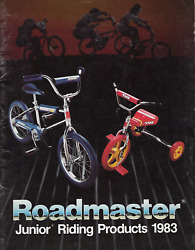 Amf Junior Wheel Goods 1983 Dealer Catalog • Pedal Cars, Trikes, Punched