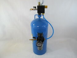 40 Lb Portable Soda Blaster Remove Rust Paint Calcium Build Up With Wheels