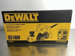 Dewalt D26676 Corded Electric 5.5 Amp 3-1/4 Portable Hand Planer New In Box