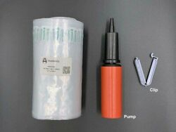 Bubble Cushioning Wrap Inflatable Packing Material150 Ft. Free Pump/clip.