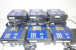 Lot Of 9 Adp 4500 Employee Time Clocks Quick Punch Touch Id By Kronos