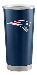 New England Patriots 20 Oz Stainless Steel Insulated Ultra Travel Tumbler Mug