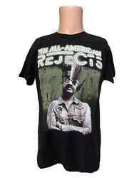 Vintage Men's Tultex The All American Rejects Black Band Tour Shirt Size Medium