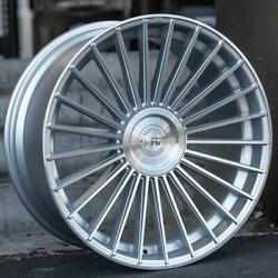 22andrdquo Rf22 Machined Silver Concave Wheels For Range Rover Supercharged Sport