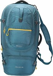 Mountain Warehouse Ultra Traveller 65l + 15l Rucksack - For Camping Petrol Blue