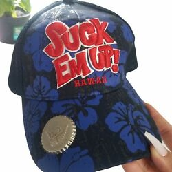 Suck Em Up Hawaii Beer Drinking Hat With Bottle Opener On It