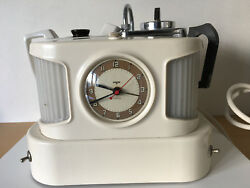 Used - Old Teapot Retro Goblin Teapot Antique - With Alarm Clock - Used