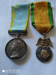 Ww Crimean War Set Medals For French