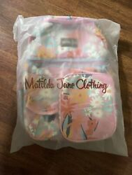 NWT Matilda Jane Dream Chasers Everything Packed cooler Backpack Bag Tote NEW $47.99