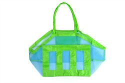Extra Large Summer Beach Mesh Sandless Shoulder Grocery Bag Carrying Tote USA $9.99