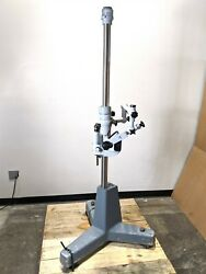 Carl Zeiss Opmi 1 Stand K120/76 Microscope Head Ent Adjustable System Instrument