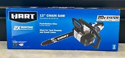 Hart Hgcs021 12 Chainsaw W/ Batt And Charger 622-2