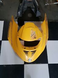 01 Bombardier Ds 650 Yellow Front, Rear, Sides Plastics, Seat And Tank Cover Oem