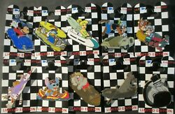 Disney- Wdi- Wed Racers Complete Set Of 10 Rare Htf Le 300 Pins