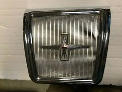 1964 Gm Oldsmobile Starfire And 1960's Gm Rear Seat Speaker Grill And Speaker, Nice