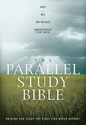 The Parallel Study Bible Nkjv - Ncv - The Message - Comprehensive Study Not...